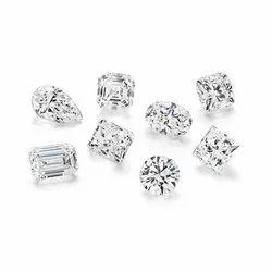 Moissanite Diamond Loose Crystal