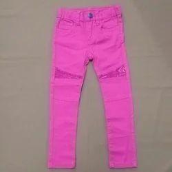 Girls Plain Jeans