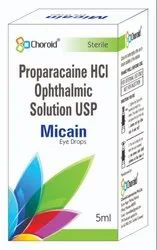 Proparacaine HCL 0.5%  Eye Drops (micain)