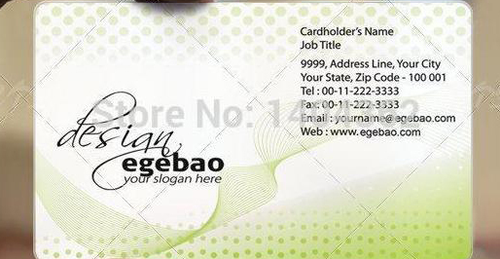 PVC Visiting Cards