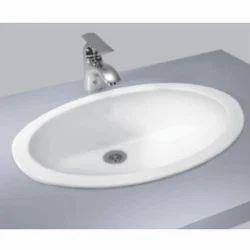 White Under Counter Wash Basin