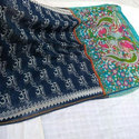 Chanderi Zari Saree