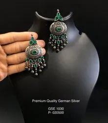 GSE 1030 German Silver Earrings