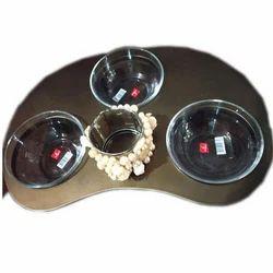 Wooden Soup Platters