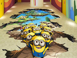3D Kids Room Painting Service