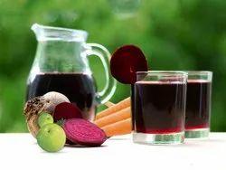 Amla Carrot (Gajar) Juice