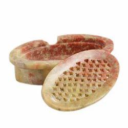 Stone Draining Soap Dish