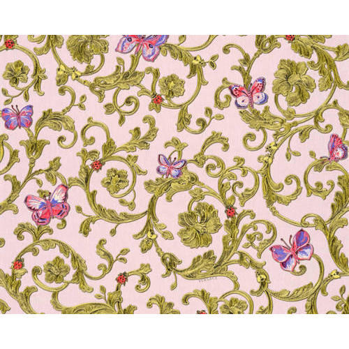 Non Woven Printed Versace Wallpaper Thickness 1 10 Mm Rs 452
