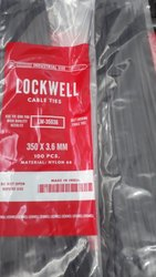 Lockwell Cable Tie 350 x 3.6 Black