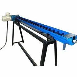 Eastman 100mm Stainless Steel Flexible Screw Conveyor, Capacity: 50 kg per feet, 220v Or 240v