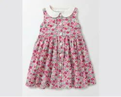 Cotton Regular Wear Organic Fair Trade Printed Frock, Age Group: 2 To 6 Years