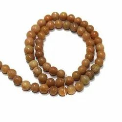 Beadsnfashion Round Gemstone Beads for Jewellery Making, Size: 5-10mm