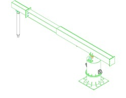 Hydraulic Pusher for Induction Furnace