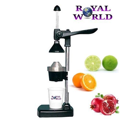 Royal World Hand Press Juicer Black