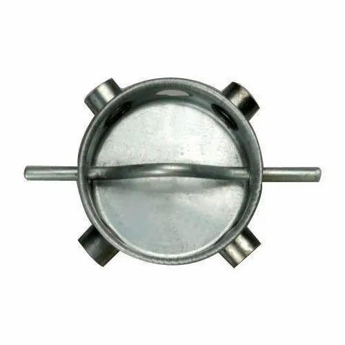 Mild steel Round Ceiling Fan Box