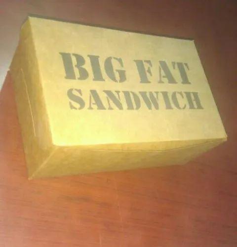 Brown Box sandwich box