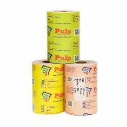 Width:105 mm Dia: 70 mm 2 Ply PULP Dot Matrix Paper Rolls