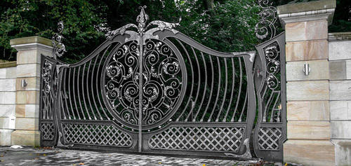 Wrought Iron Gate Hari Om Traders Id 7861748655
