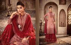 Designer Embroidery Sarara Suits