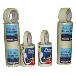 EURO 1 Inch And 4 Inch Paper Masking Tape, Usage: Paint Protection