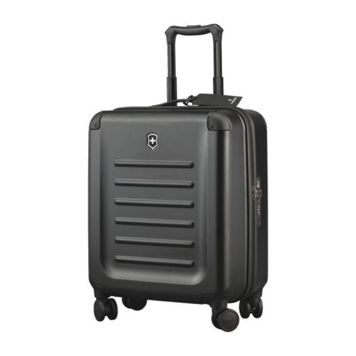 Victorinox 31318301 550 Mm Black Spectra 2 0 Extracapacity Carry On Cabin Bag
