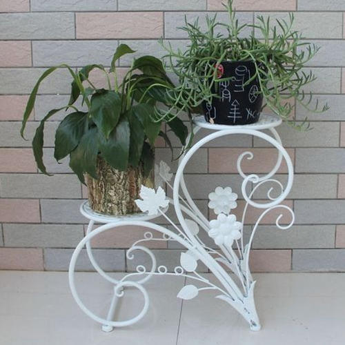 Gamla Stand Designs : Wrought iron flower stand droughtrelief