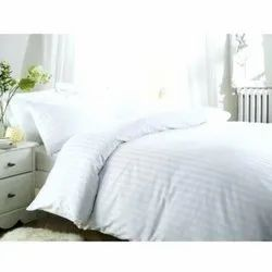 White Stripped Quilt