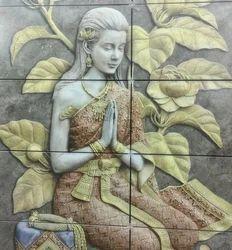 3D Printing Ceramic Tiles