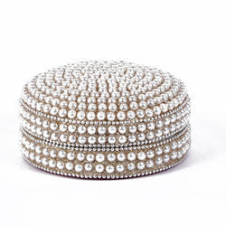 Rawsome Shack Metal & Pearl Bangle Box
