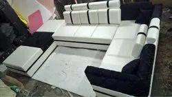 Wooden Modern Designer Sofa Set, For Home, Hall
