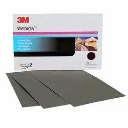 3m Wetordry Abrasive Sheet - 2000