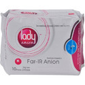 Lady Anion Day Use Sanitary Napkin 10 Pieces