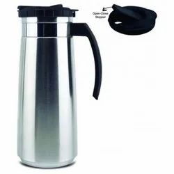 Wide Mouth Design Stainless Steel Filo Steel Jug, Capacity: 1.3 Ltr