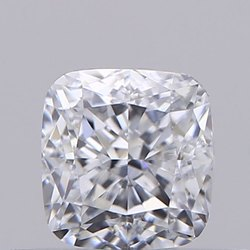 Cushion cut 0.57ct Lab Grown Diamond CVD F SI1 IGI Certified Stone