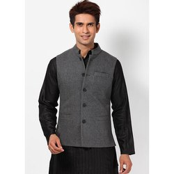 Party Wear Men Woolen Nehru Jackets, Size: S To Xl