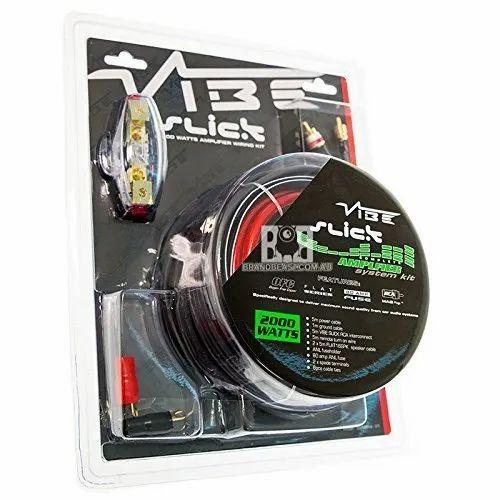 Vibe Slick Awk 4 V1 4 Gauge Wiring Kit on