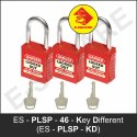 Premier Lockout Safety Padlock With Steel Shackle