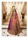 Designer Wedding Wear Heavy Embroidery Lehenga