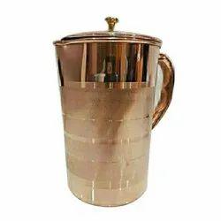 Antique Copper Jug, Capacity: 1500 ml