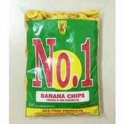 Organic Banana Chips, Packaging Type: Packet, Vegetable Oil