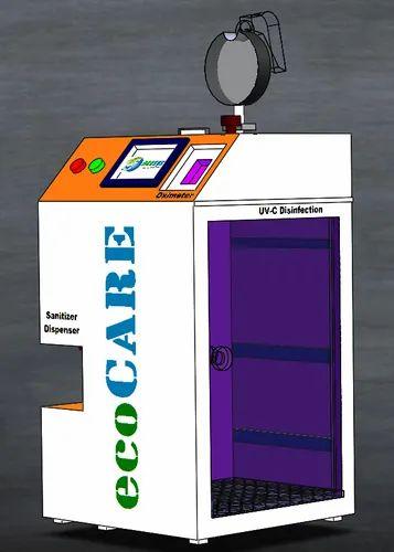 Ecocare Covid-19 Prevention Kiosk