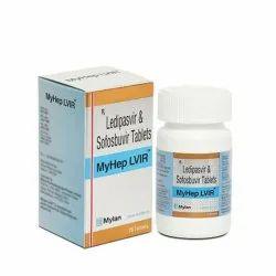 Myhep Lvir Ledipasvir & Sofosbuvir Tablets