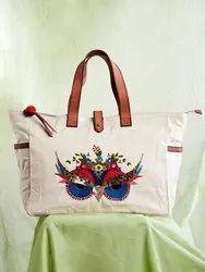 Trendy ladies canvas bags