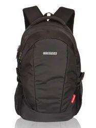 Black Forbes Laptop Backpack