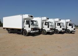 Milk Truck Refrigerated Containers