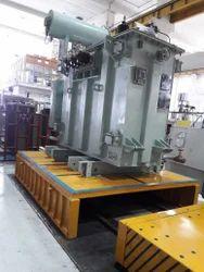 Mild Steel Four-wheel Die Transfer Cart,, Capacity: 25 Tons