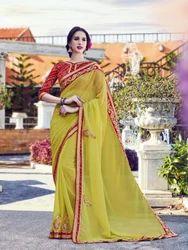 Bandhani Style Saree