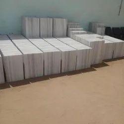 LGM Makrana White Tiles, Thickness: 17 mm