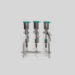 For Pharma Stainless Steel Sterility Test Apparatus, Chamber Volume: Upto 5000 Ltr