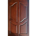 Wooden Designer Double Door